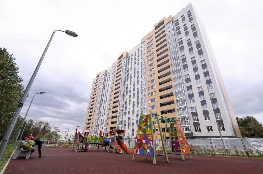 новые дома для переселенцев по реновации