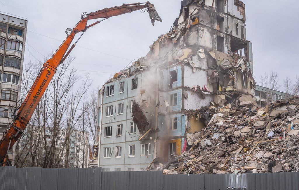 снос пятиэтажек в 2018 году