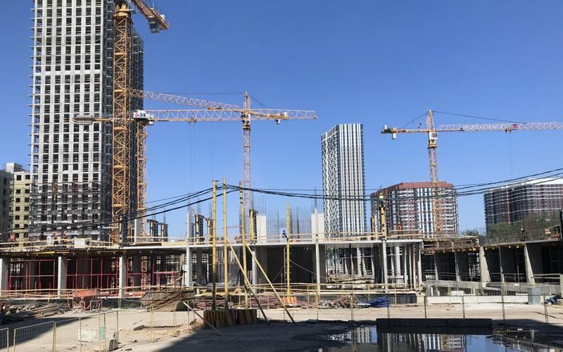 строительство нового жк в москве