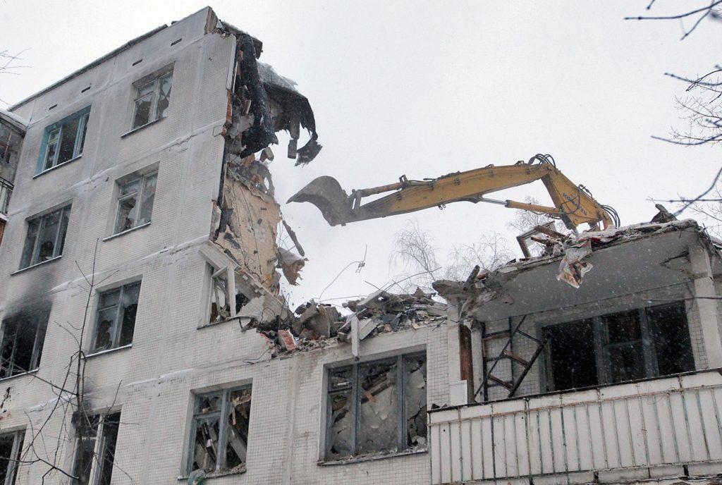 первая волна сноса пятиэтажек в москве