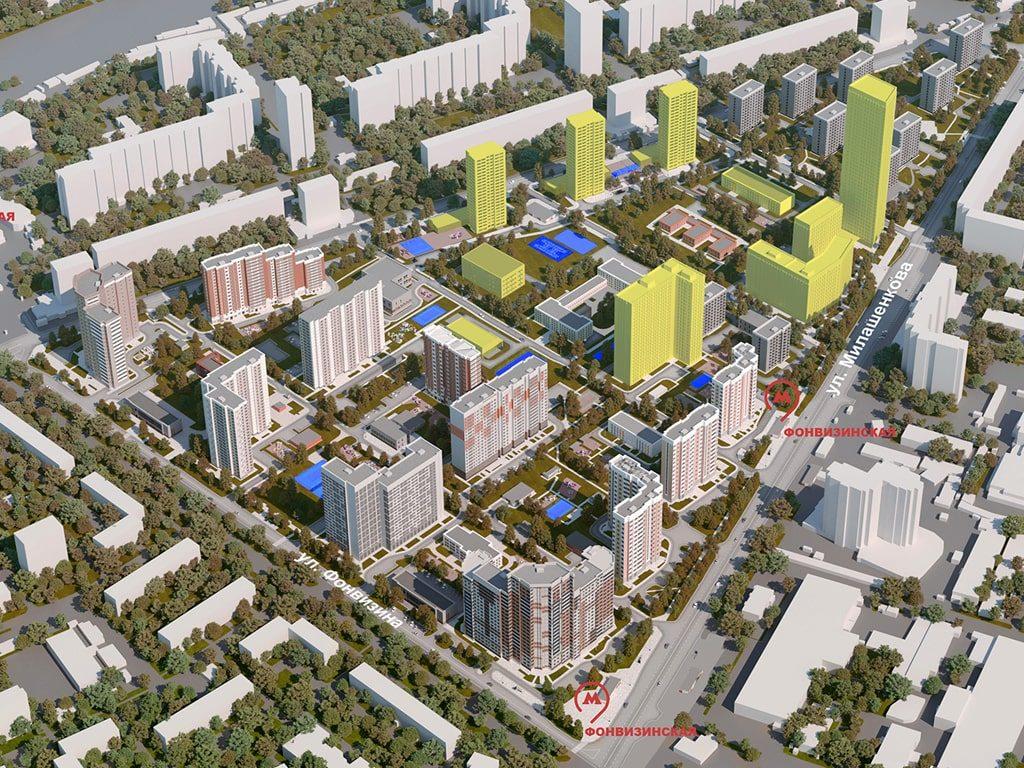 проект планировки территории мкр. 78